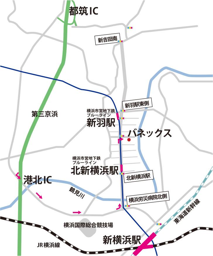vanex-map
